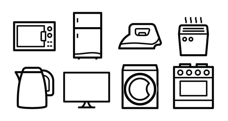 Интернет-магазин бытовой техники. Изображения категорий.